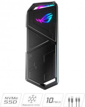 Внешний карман Asus ROG Strix Arion Lite для M.2 SSD NVMe (PCIe) - USB 3.2 Type-C (ESD-S1CL/BLK/G/AS)