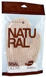 Мочалка-рукавичка для душу зі сизалю Suavipiel Natural (8410262100240)