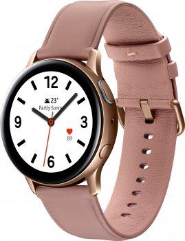 Смарт-часы Samsung Galaxy Watch Active 2 40mm Stainless steel Gold (SM-R830NSDASEK)