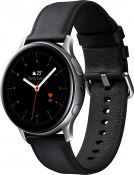 Смарт-годинник Samsung Galaxy Watch Active 2 40 mm Stainless steel Silver (SM-R830NSSASEK)