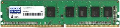 Оперативная память Goodram DDR4-2666 16384MB PC4-21300 (GR2666D464L19S/16G)