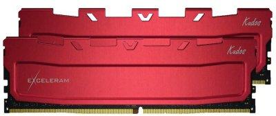 Оперативна пам'ять Exceleram DDR4-2400 65536 MB PC4-19200 (Kit of 2x32768) Red Kudos (EKRED4642417CD)