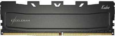 Оперативна пам'ять Exceleram DDR4-2666 16384 MB PC4-21328 Black Kudos (EKBLACK4162619C)