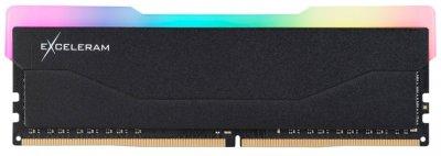Оперативная память Exceleram DDR4-2666 16384MB PC4-21328 RGB X2 Series Black (ERX2B416269C)