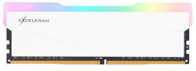 Оперативная память Exceleram DDR4-3600 8192MB PC4-28800 RGB X2 Series White (ERX2W408369A)