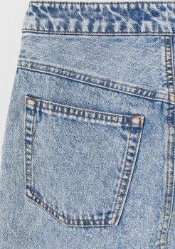 Спідниця джинсова H&M 060760664 Світло-блакитна