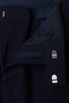 Брюки H&M 3917504-AAQJ M Темно-синие