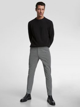 Брюки Zara 2069/300/064-ABBE Белые с черным