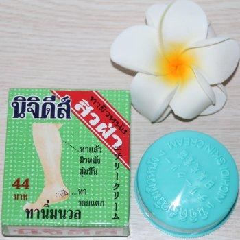 Бальзам для ног Nichidi от трещин на на коже с пчелиным воском 15 гр