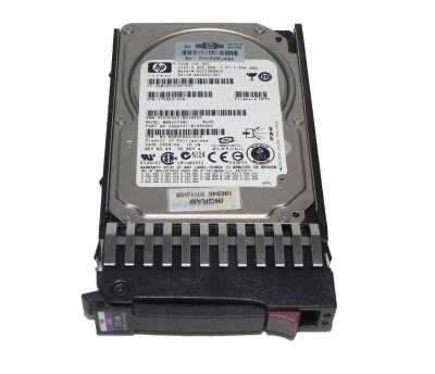 "Жесткий диск для сервера 72Gb HP 460850-001, 10000rpm 32MB (DG072BABCE) 2.5"" SAS Б/У"
