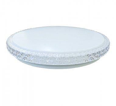 Накладний світильник стельовий (Smart) SunLed Кришталь білий 70 вт (SL-D04-M-450-70-P1)
