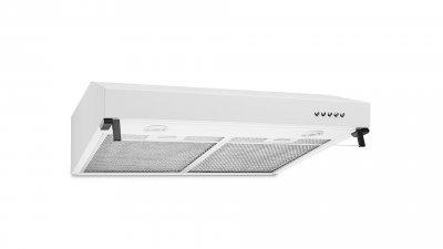 Вытяжка кухонная ARTEL ART 0960 PUNTO 60 см пристенная 400 куб. м/ч кухня 7-10 кв 2 фильтра антивозвратный клапан белая