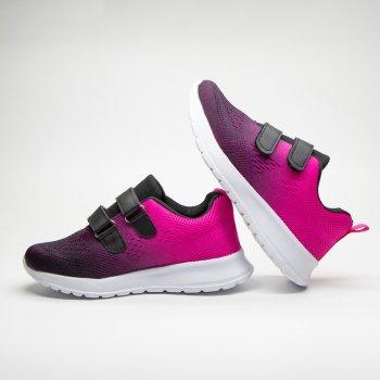 Кросівки для дівчаток Red Sun арт.T21 Чорно-рожеві