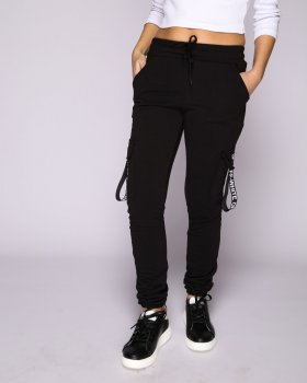 Спортивні штани 025 Чорний
