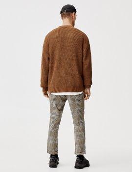 Кардиган PULL & BEAR М0107599 (9582/501/705) колір коричневий