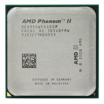 Процесор AMD Phenom II X4 955 Black Edition 3,2 GHz AM3 (125Вт) Б/У
