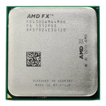Процессор AMD FX-4300 3,8GHz AM3+ Б/У