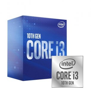 Процесор Intel Core i3-10100F, Box, 4x3,6 GHz