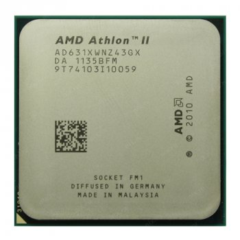 Процесор AMD Athlon II X4 631 2,6 Ghz FM1 Б/У