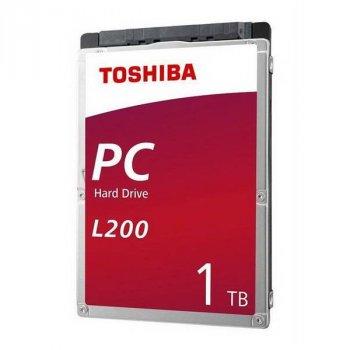 """HDD 2.5"""" SATA 1.0 TB Toshiba L200 5400rpm 128MB (HDWL110UZSVA)"""