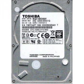 "HDD 2.5"" SATA 500GB Toshiba 5400rpm 8MB (MQ01ABD050V_2019)"