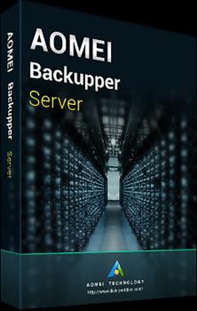 Системная утилита AOMEI Backupper Server (1 сервер), пожизненные обновления (BS-01)