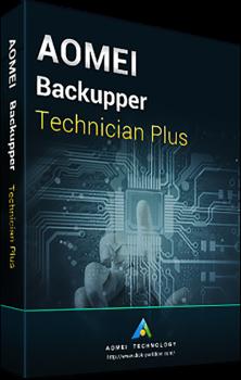 Системная утилита AOMEI Backupper Technician Enterprise Plus (неограниченное кол-во ПК и серверов), без обновлений (BTE-00)