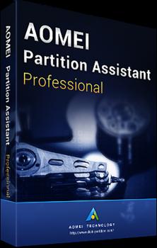 Системная утилита AOMEI Partition Assistant Professional (2 ПК), пожизненные обновления (PAP-01)
