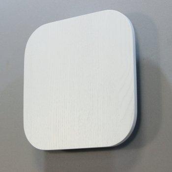 Дерев'яна яний бра-світильник Quadro-25 R60-WA ясний (білого кольору)