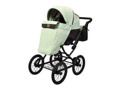 Детская коляска 2 в 1 Angelina Phaeton Classic мятная color 39