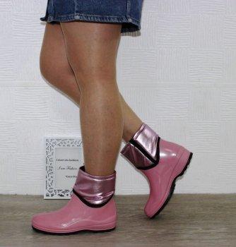 Чоботи силіконові SELENA Fay1 пудра рожевий