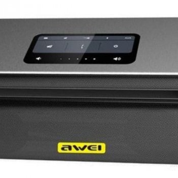Портативна Bluetooth колонка Awei Y600, чорна
