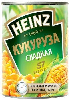 Кукуруза сахарная Heinz 400 г (5900783007621_5900783009427)