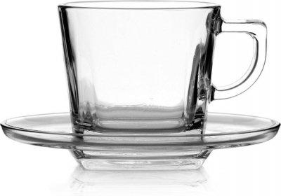Чашка с блюдцем Baltik 210мл (95307)