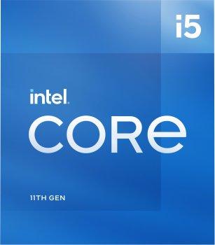 Процесор Intel Core i5-11600 2.8 GHz / 12 MB (BX8070811600) s1200 BOX