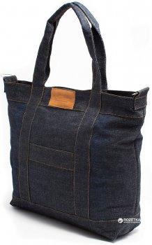 Джинсовая сумка Poolparty Синий (pool6-jeans)