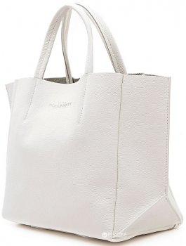 Кожаная сумка POOLPARTY Soho (poolparty-soho-white)