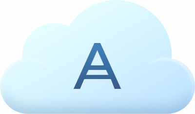Acronis Cloud Storage Subscription License for 11.7, 4 TB, 1 Year