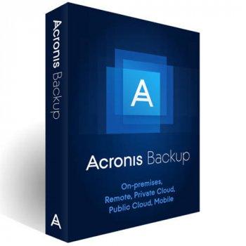 Acronis Backup Standard Workstation Subscription License, 1 Year