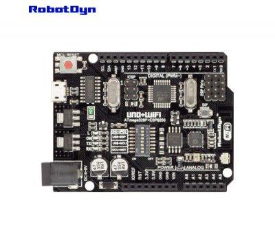 Плата контролер RobotDyn UNO WiFi R3 ATmega328P ESP8266