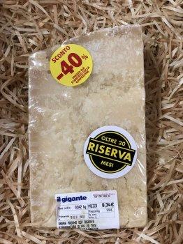 Сир Riserva 20 mes ціна за 1кг