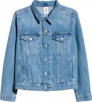 Джинсова куртка H&M 4555755-ACXD Синя