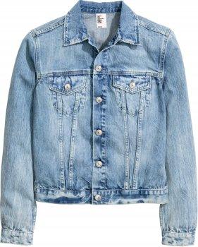 Джинсовая куртка H&M 3990615-ACXD Синяя