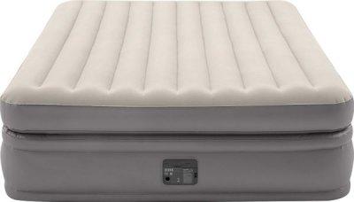 Надувная кровать Intex 64164 (152 х 203 х 51) Двухспальная + встроенный электрический насос