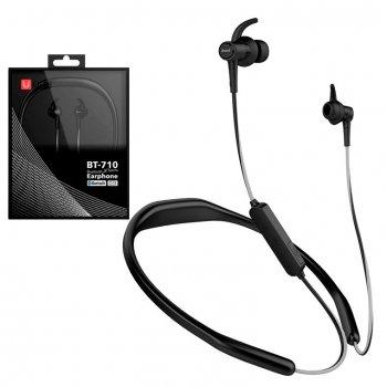 Bluetooth наушники с микрофоном UiiSii BT710 черные