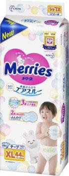 Подгузники Merries (Мерриес) XL (12-20kg) 44шт.