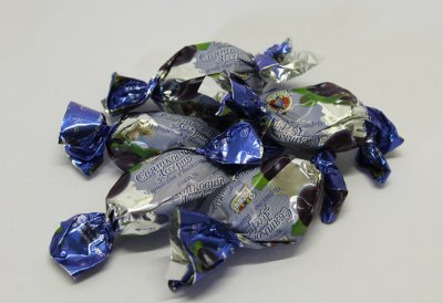 Натуральные органические шоколадные конфеты Росичи Праздничный десерт (Святковий десерт), 1кг