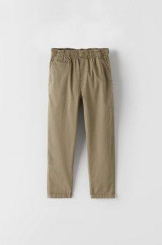 Штани для хлопчика 6163 ZARA Коричневий
