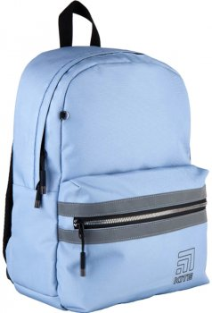 Рюкзак Kite City для дівчаток 460 г 41x30x13 см 18 л Блакитний (K21-2581M-1)