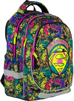 Рюкзак Kite Education DC comics 700 г 38x28x16 см 18 л Паттерн (DC21-700M-2)